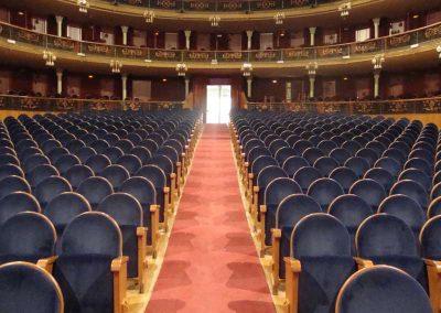 Butacas ignífugas para teatros - DecoratelESPAÑA