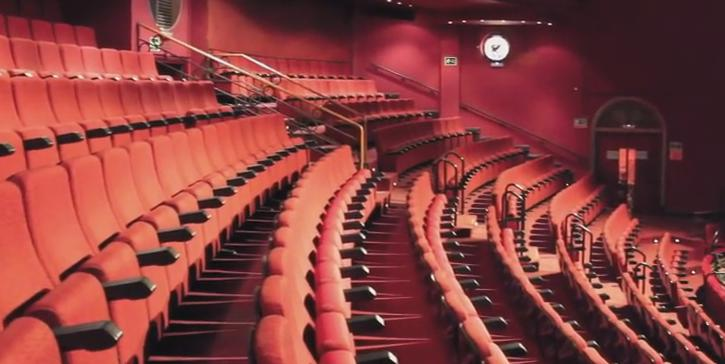 Visita al teatro coliseum de madrid fabricante de telones para teatros - Teatro coliseum madrid interior ...